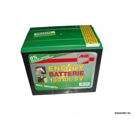 Trockenbatterie 9 V/130 Ah