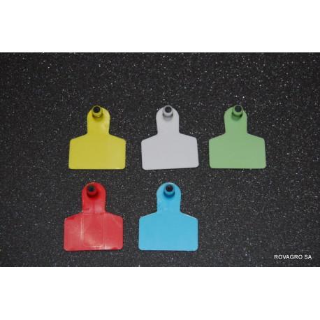 Allflex® Medium männlich 40x22 mm gelb