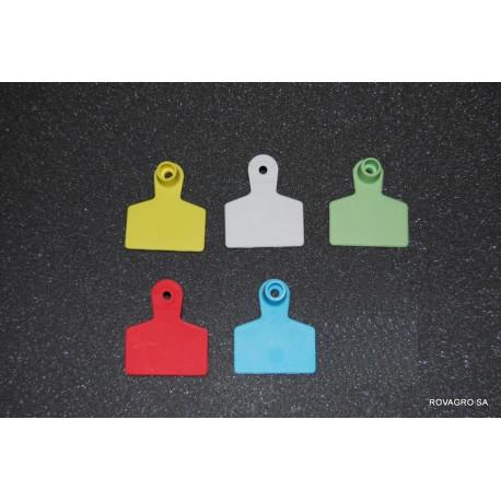 Allflex® Medium  weiblich 40x22 mm gelb
