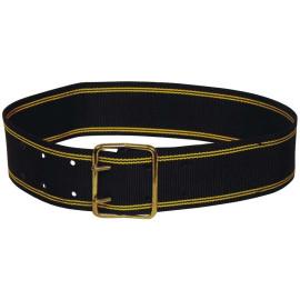 Courroie polyester noir 110 cm x 60 mm