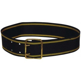Courroie polyester noir 110 cm x 70 mm