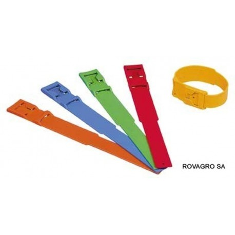 Fesselband PVC blau, 37 cm