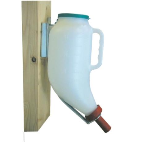 Metall-Halterung für Trockenfutterflasche