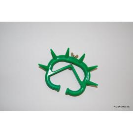 Antitéteur avec vis réglable vert