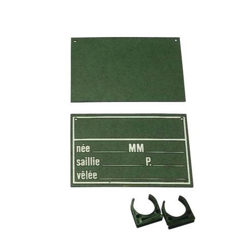Stalltafel schwarz,18x25.7cm
