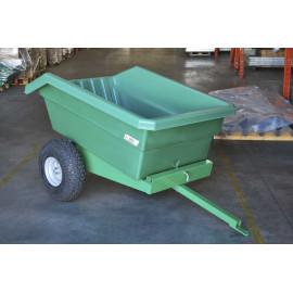 Anhänger QUAD 450 Liter, für Kleintraktor