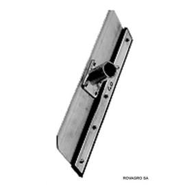 Racloir d\'écurie 350 mm en aluminium sans manche