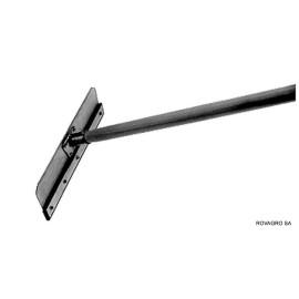 Aluminium Stallschaber 400 mm mit Eschenstiel