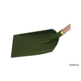 Pelle à rebord plastic avec manche