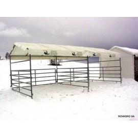 Planendach aus PVC für  Horse Shelter 3,60 x 7,20 m