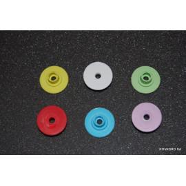 Allflex® bouton femelle Ø 29 mm bleu