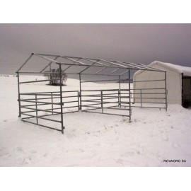 HORSE SHELTER 3,6 x 7,2 m ohne Tor