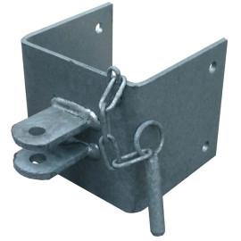 Anschraubteil für Mauerende 150 mm (2 Stk)