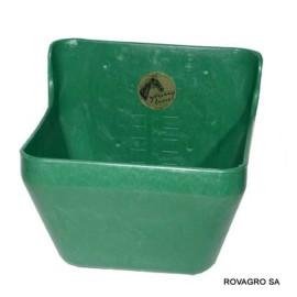 Futtertrog 16 L., Kunststoff, grün