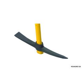 Kreuzpickel mit Glasfaser-Schlüpfstiel