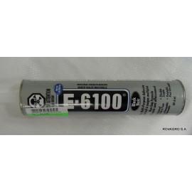 Silicone noir en cartouche de 350 ml.