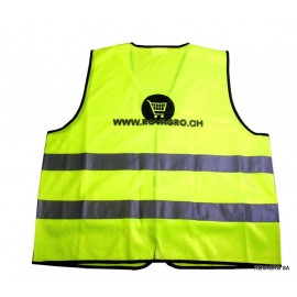 Gilet sécurité jaune fluo