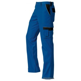 Arbeitshose blau/schwarz (44)