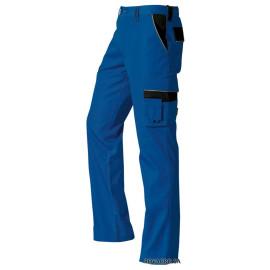 Arbeitshose blau/schwarz (48)