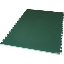 Grüne Matte Rinder
