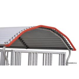 Protection intégrale pour toit râtelier 4 faces