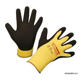 Gants de qualité PowerGrab Thermo t. 10/XL jaune