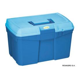 Putzbox Siena mit herausnehmbarem Einsatz marine/hellblau