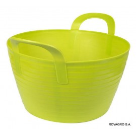 Flexibler Trog FlexBag  12 L grün