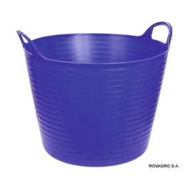 Seau flexible FlexBag 28 l. bleu