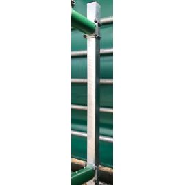 RovFlex- Pfosten nackt auf Beton 1,75 m