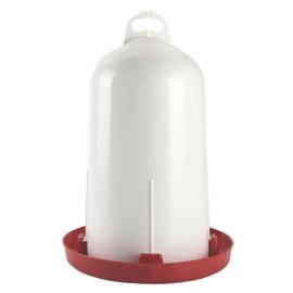 Doppelzylinder-Kunststofftränke für Geflügel